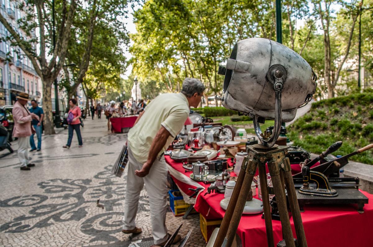 lissabon-portugal-flohmarkt